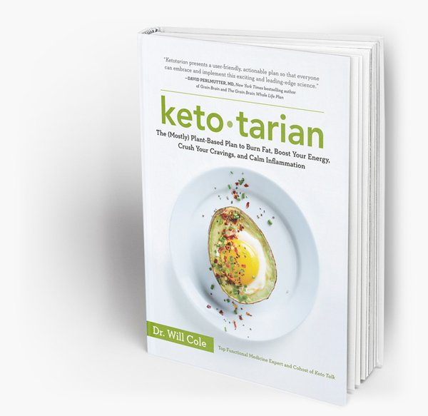 283: Dr Will Cole Talks Ketotarian Low-Carb Conversations podcast
